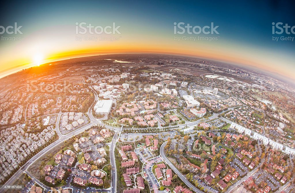 Orange County, California stock photo