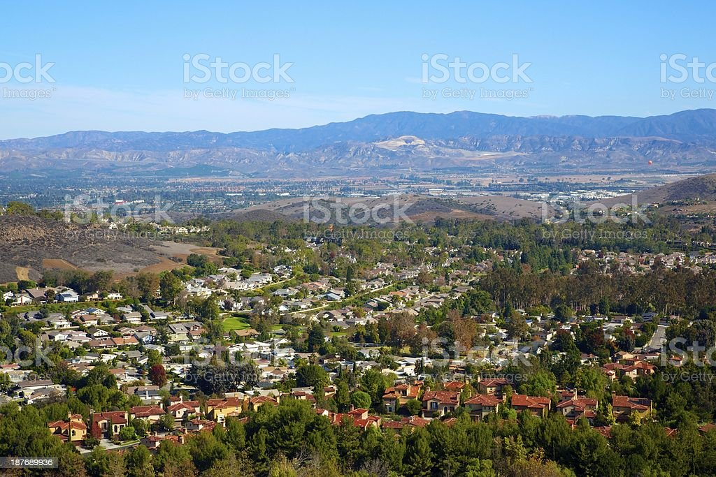 Orange County Canyon stock photo