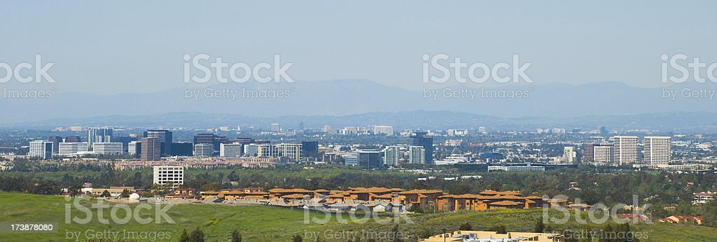Orange County city skylines view royalty-free stock photo