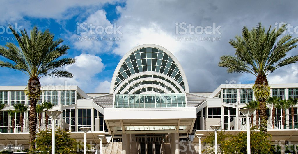 Orange County Convention Center Orlando Florida stock photo