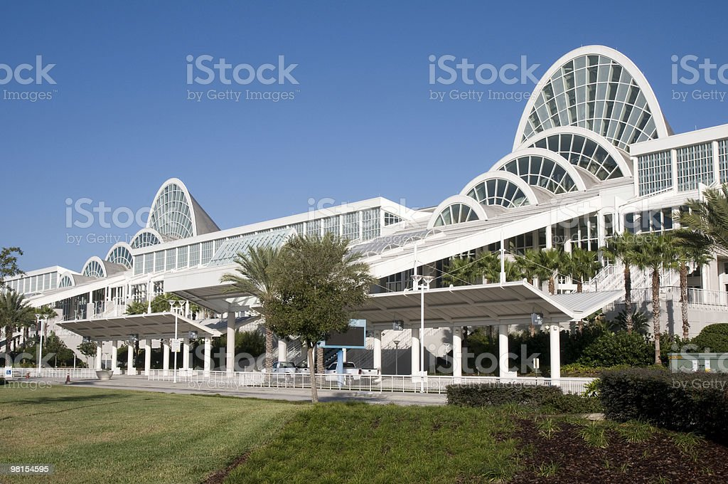 Orange County Convention Center Orlando Florida stock photo