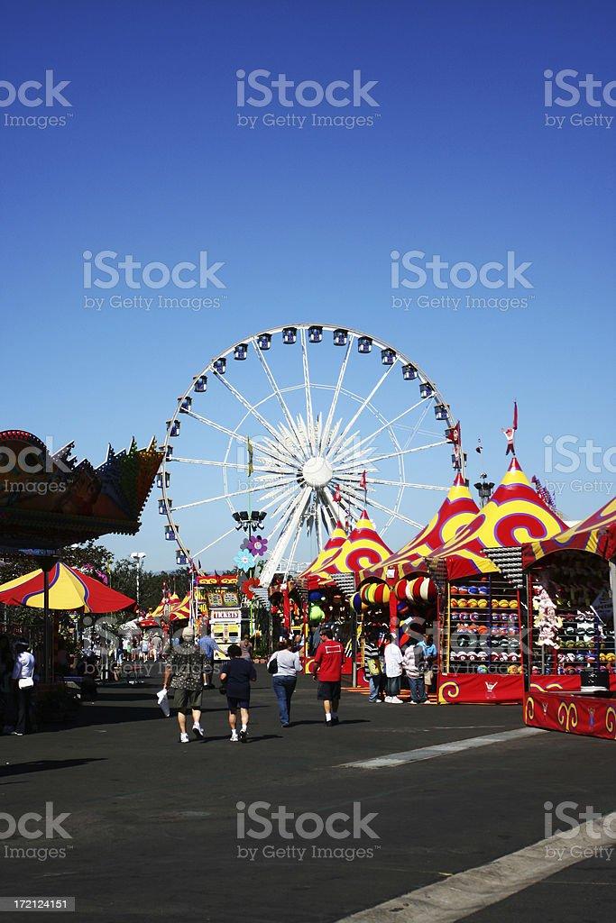 Orange County Fair stock photo