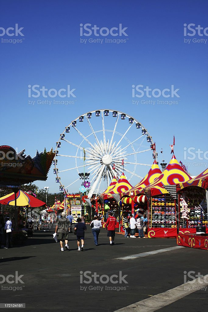 Orange County Fair stock photo