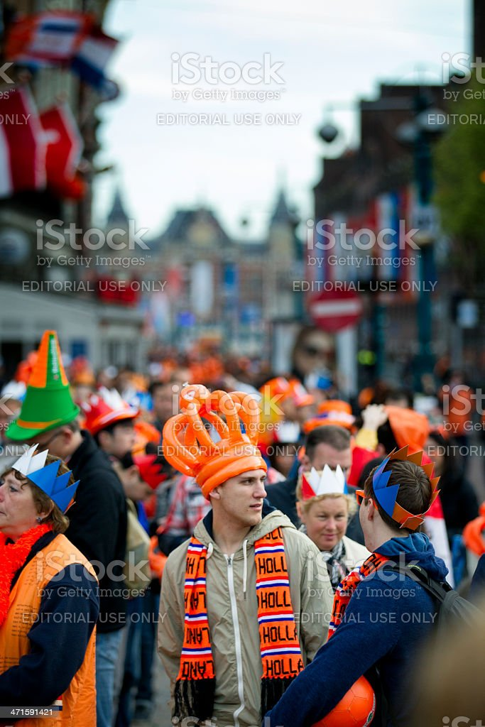Orange crown royalty-free stock photo