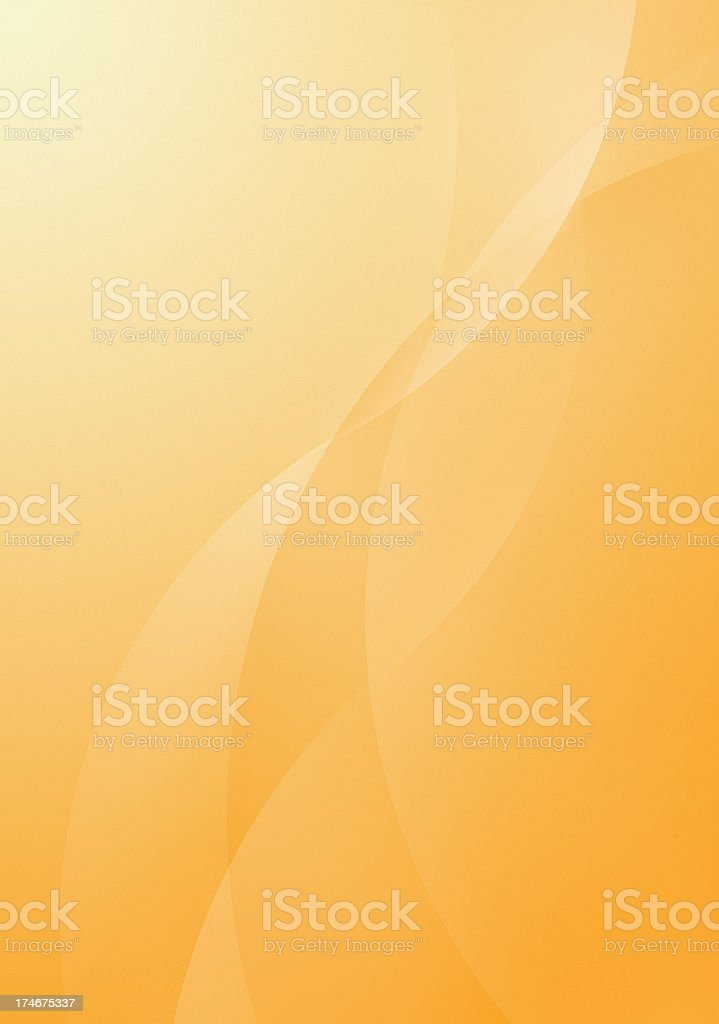 Orange Cwist stock photo