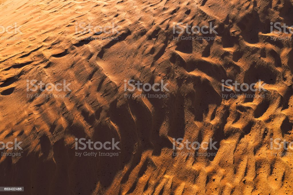 Orange Desert Texture, Wallpaper and Background stock photo