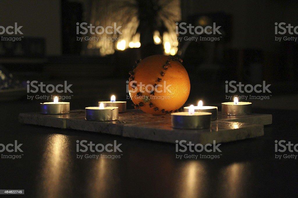 Orange affichage photo libre de droits