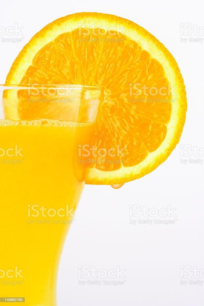 Orange Drink 1 royalty-free stock photo
