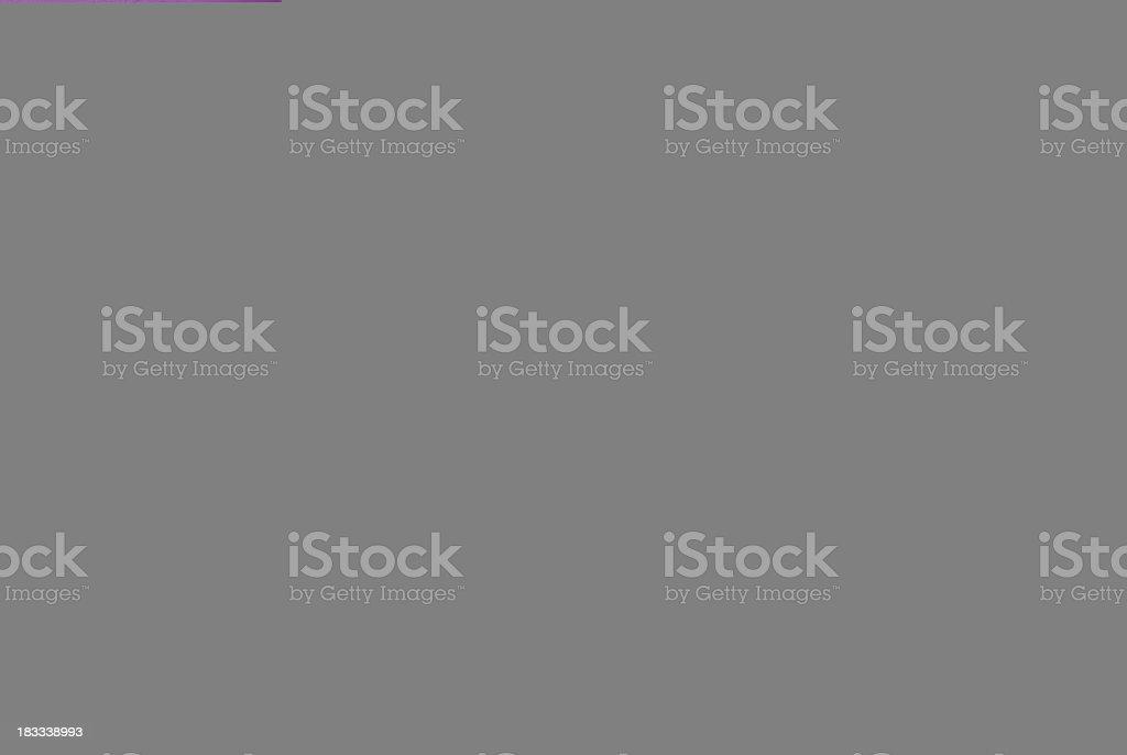 Orange envelope with greeting card on purple royalty-free stock photo