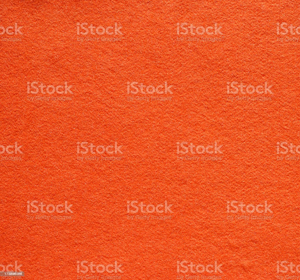 Orange felt royalty-free stock photo