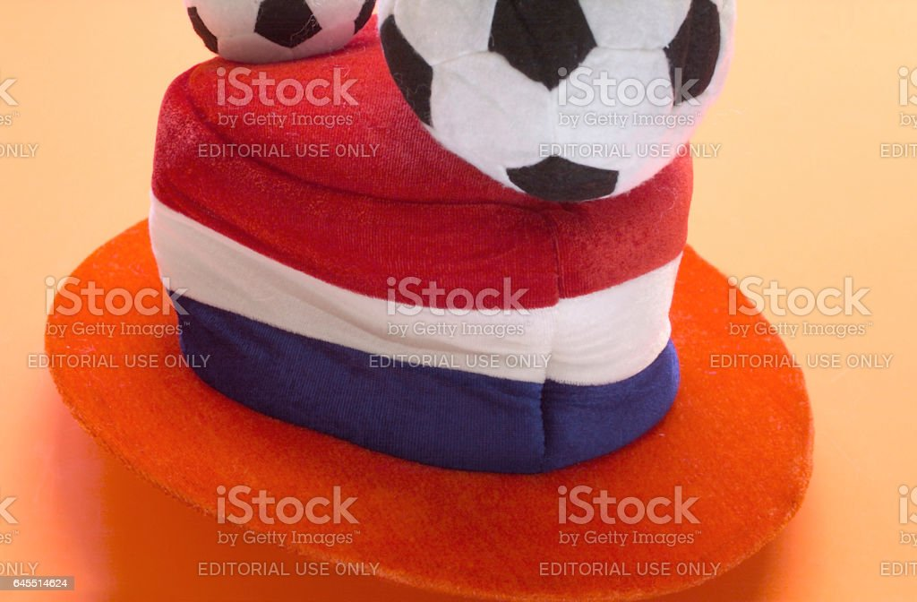 orange football head stock photo