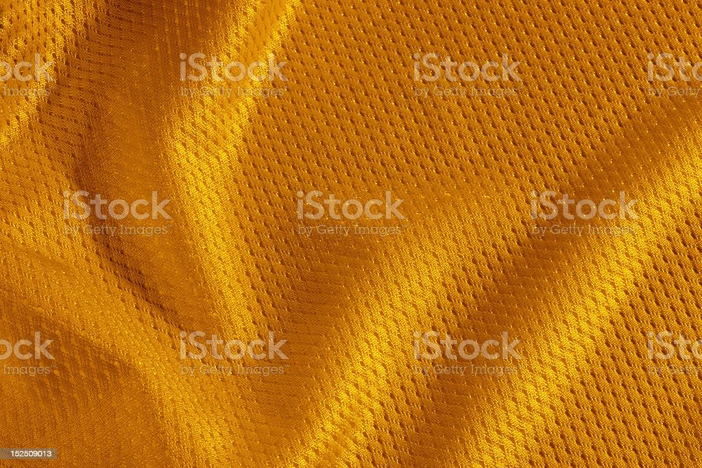 orange football Jersey royalty-free stock photo