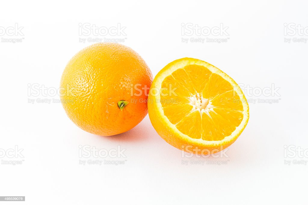Orange fruit. stock photo