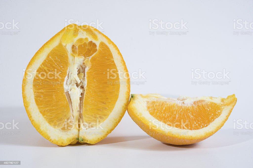 Orange fruits royalty-free stock photo