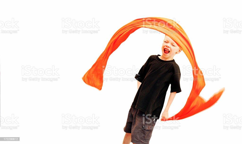 Orange Fun stock photo