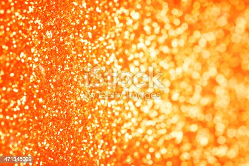 Orange Glitter Background stock photo 471345069 | iStock