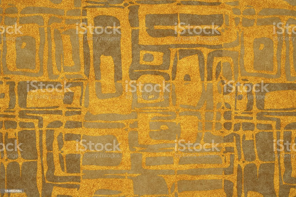 Orange Gold Modern Abstract Background royalty-free stock photo