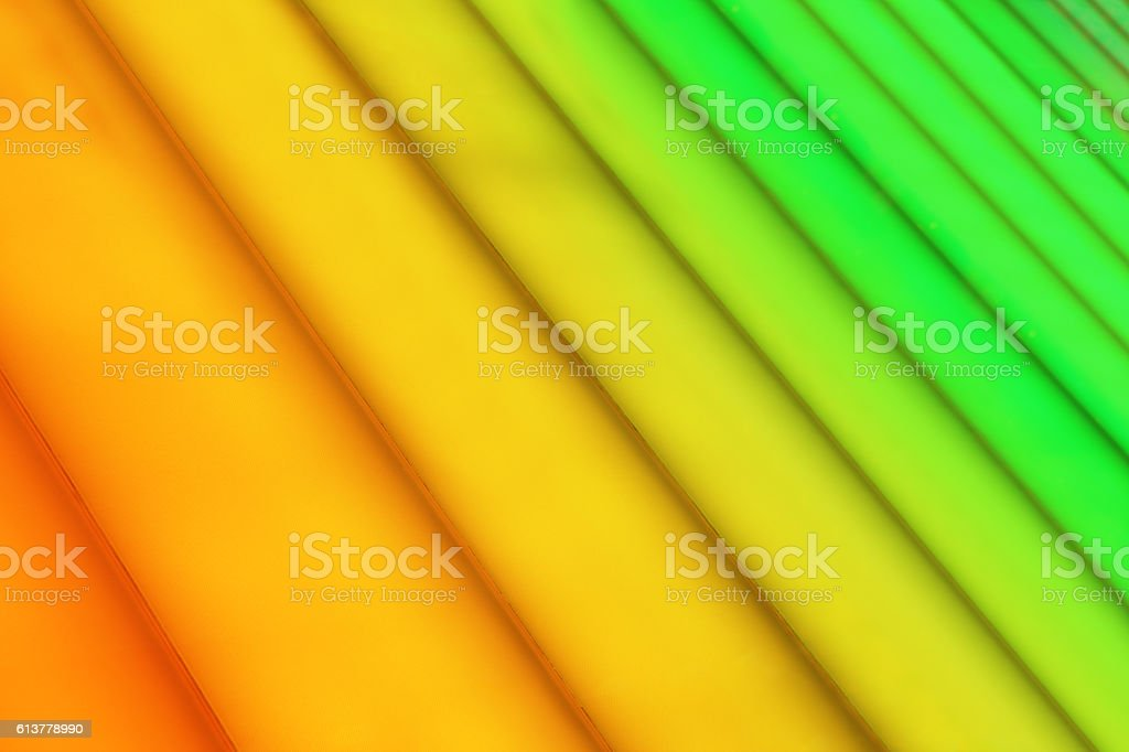 Orange Green Abstract Lined Color Gradient stock photo