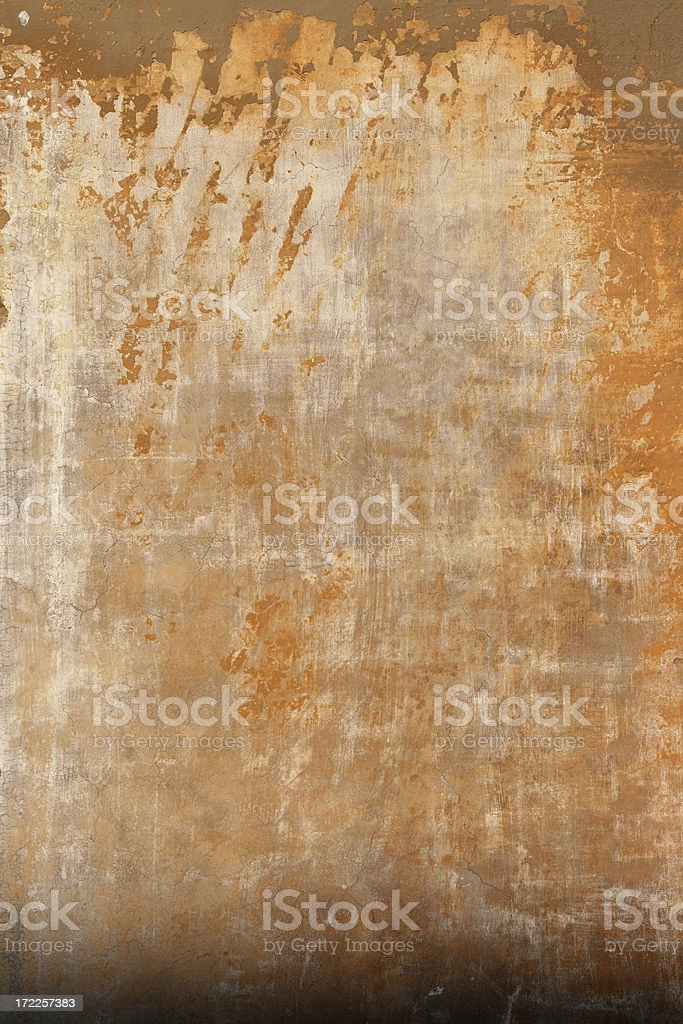 Orange grey Roman grunge wall texture royalty-free stock photo