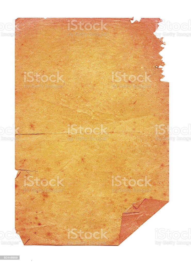 Orange Grunge stock photo