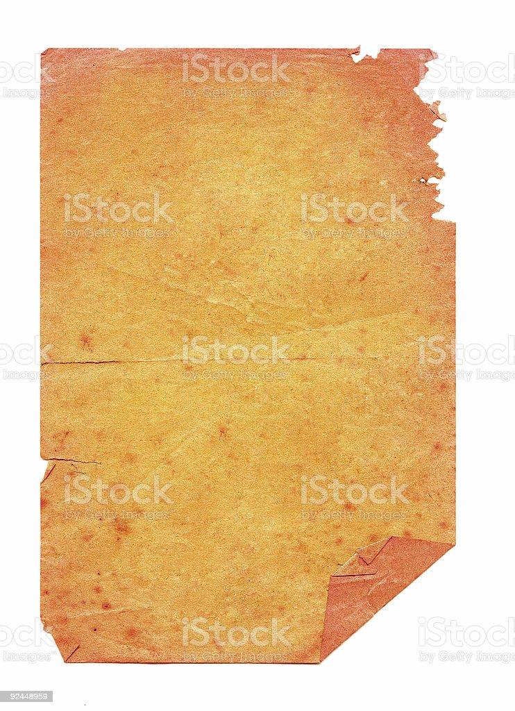 Orange Grunge stock photo