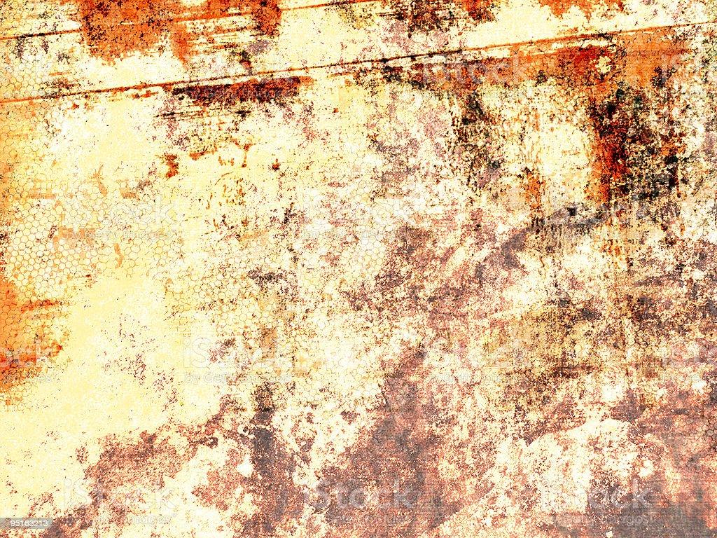Orange grunge royalty-free stock photo
