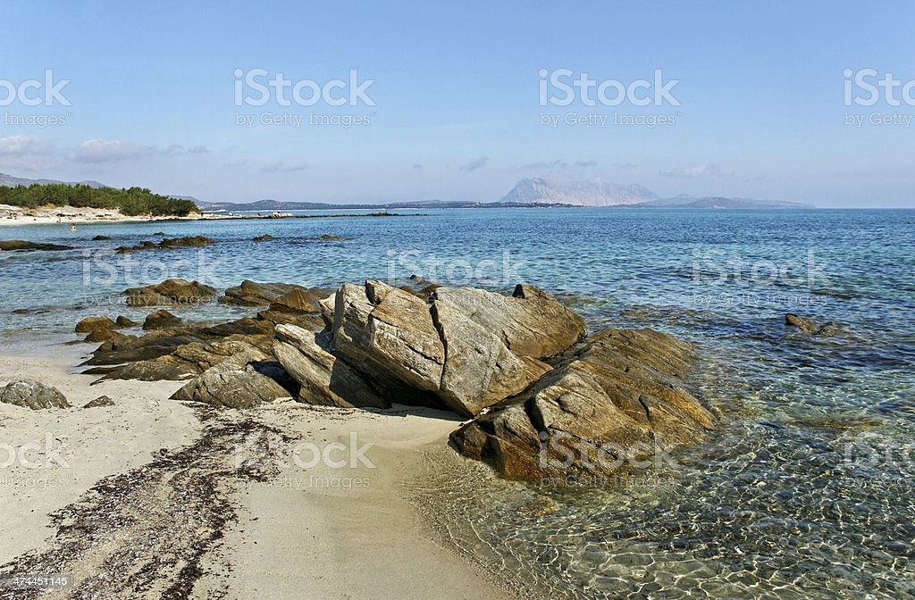 Golfo aranci. stock photo