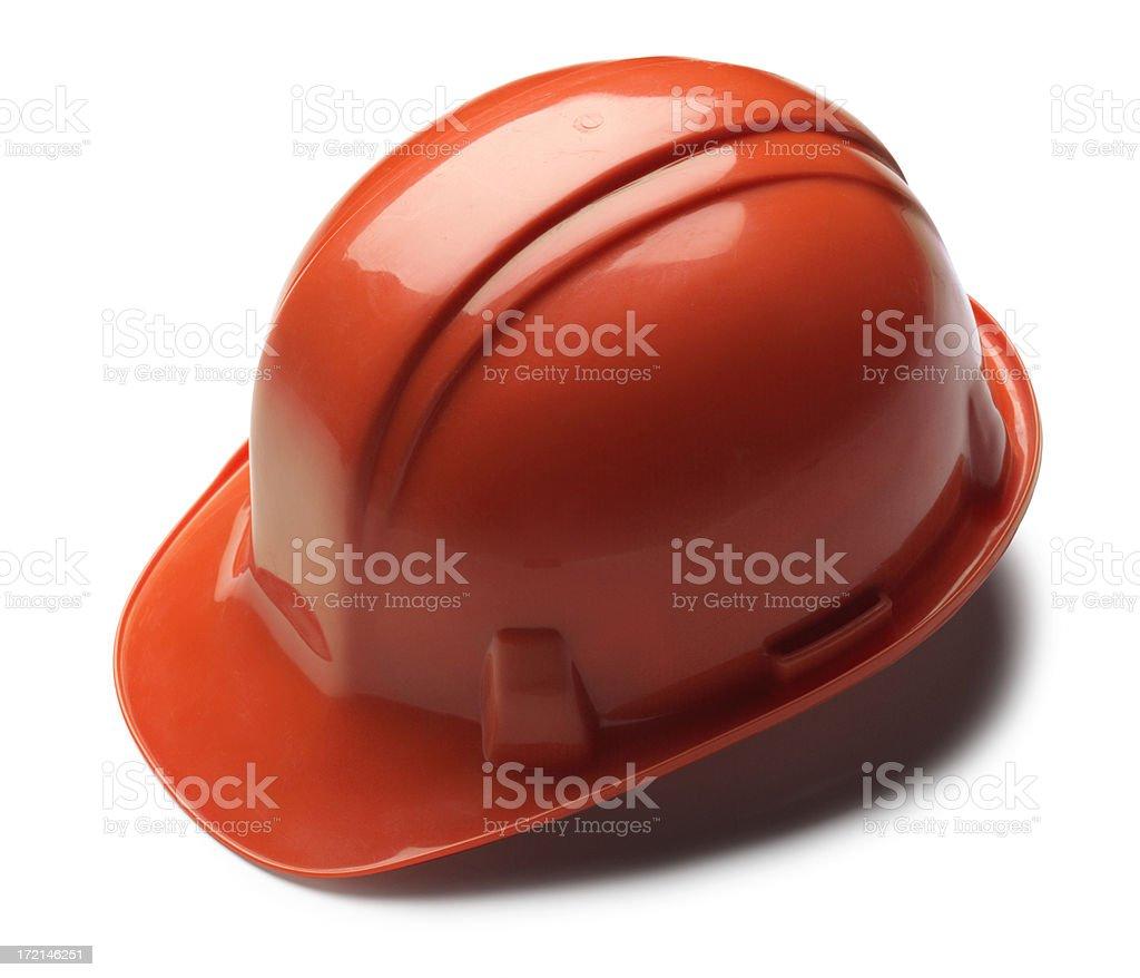 Orange Hardhat royalty-free stock photo
