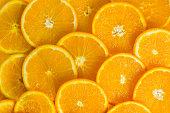 Orange. Healthy food, background.