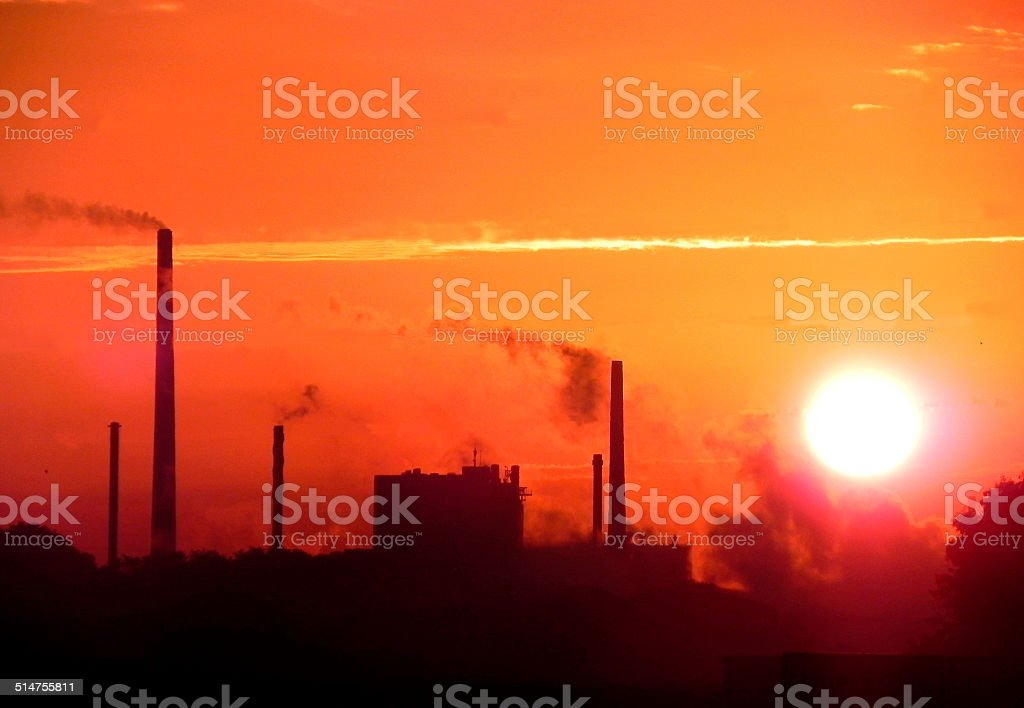 Orange Industry stock photo