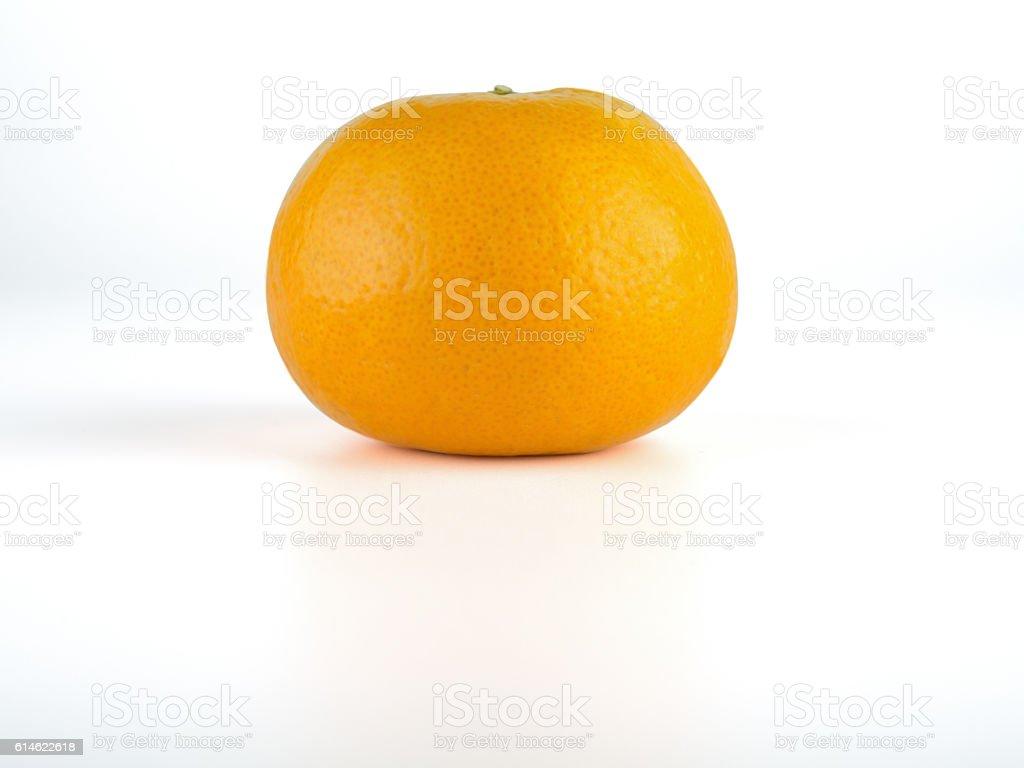 orange, isolated on white background. stock photo
