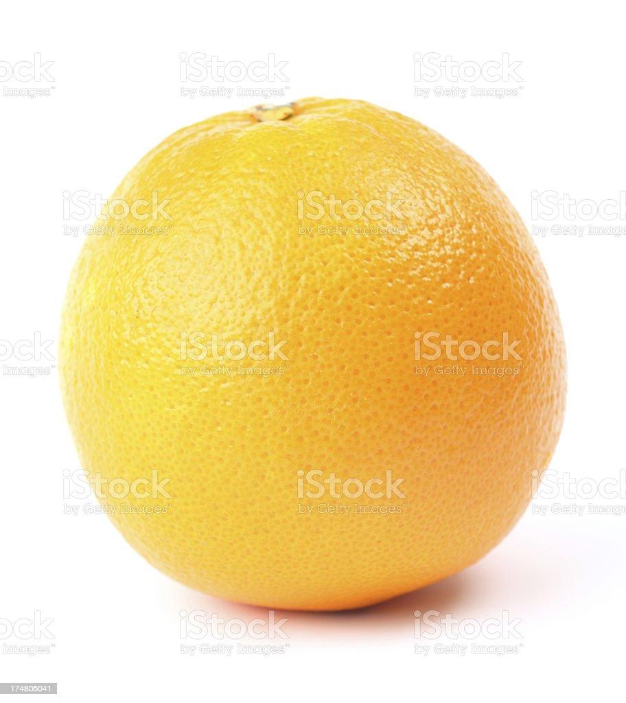 Orange Isolated royalty-free stock photo