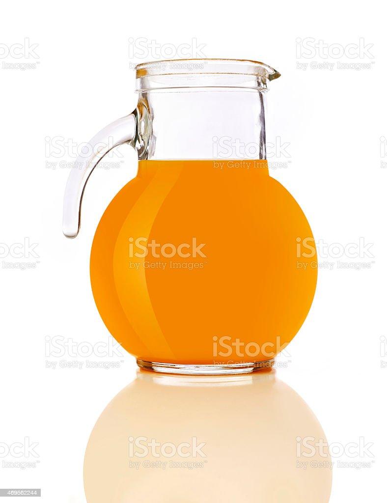 Orange jug stock photo