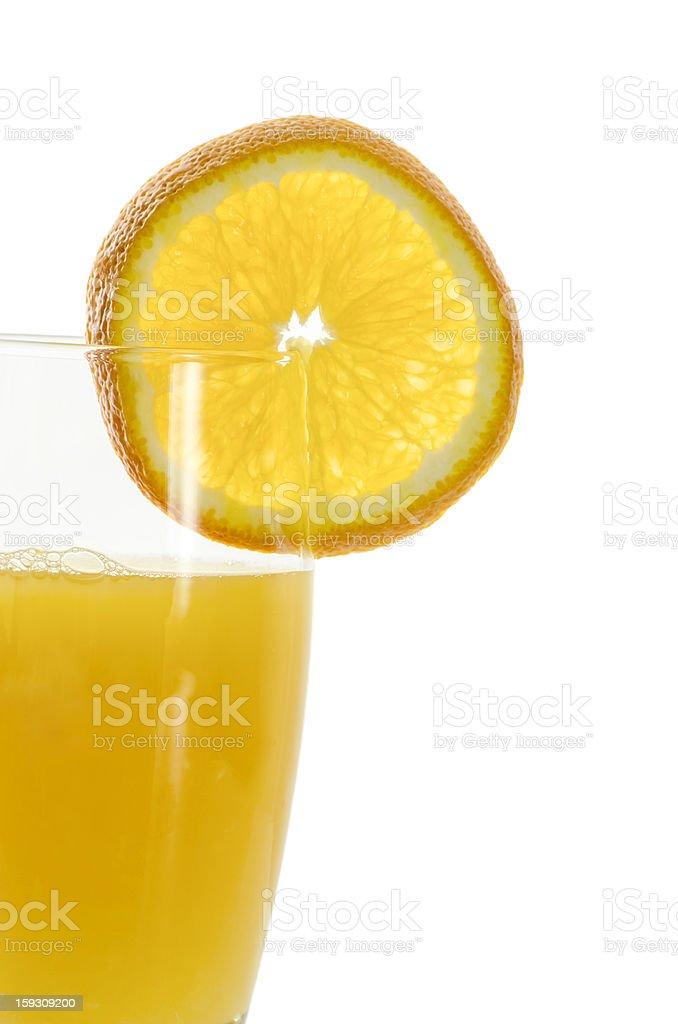 Orange juice detail royalty-free stock photo