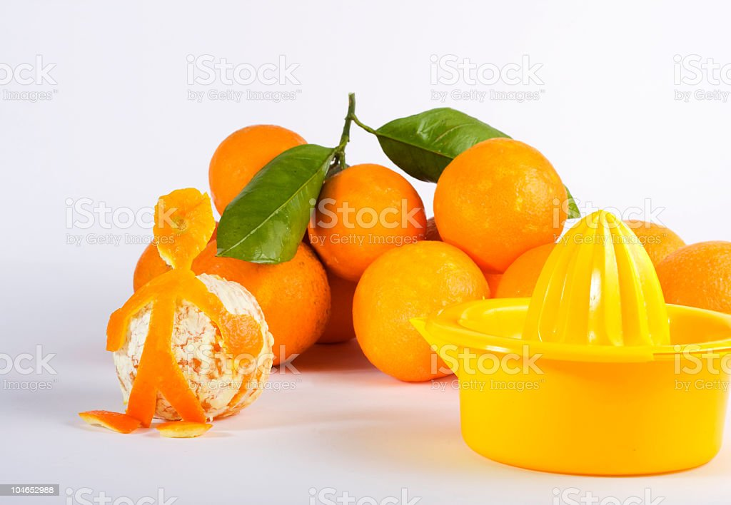 Orange juice humour royalty-free stock photo