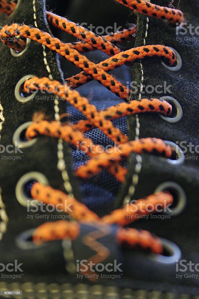Arancione lacci foto stock royalty-free