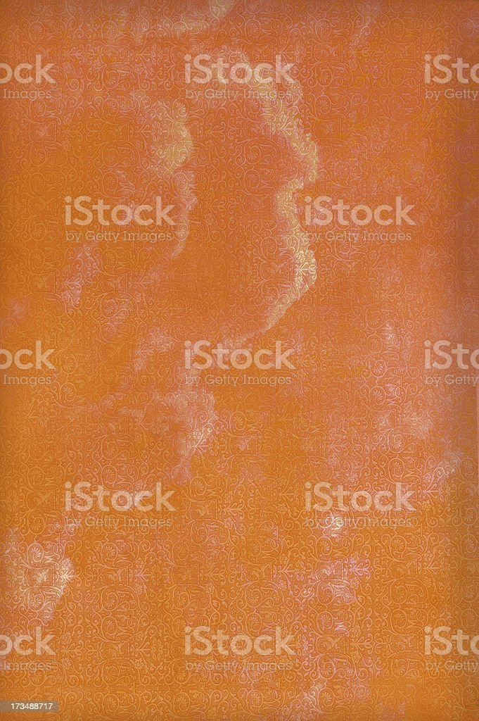 Orange Layered Mottled Abstract Background royalty-free stock photo
