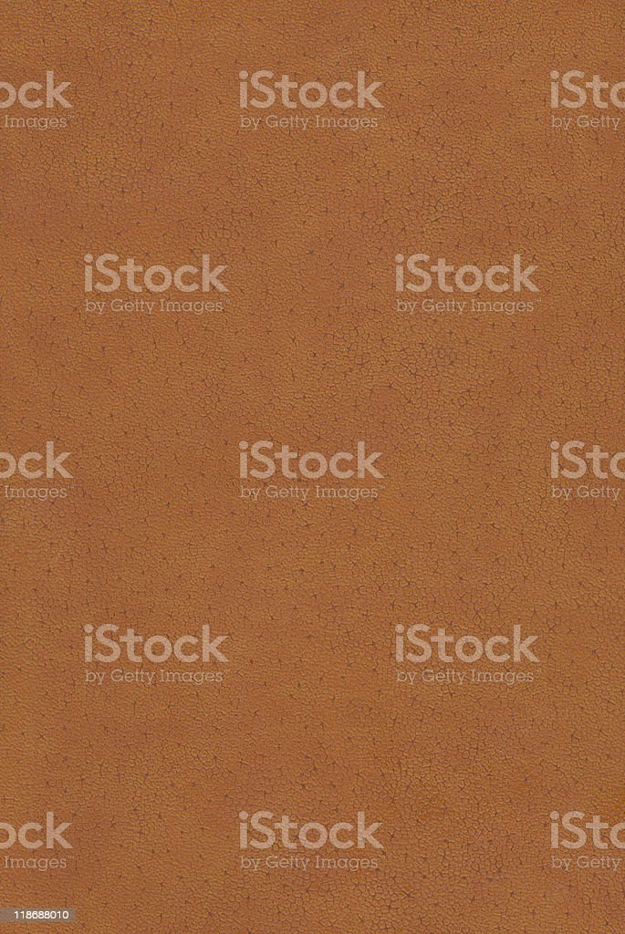 Orange leather stock photo