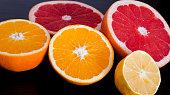 Orange, lemon, grapefruit 3