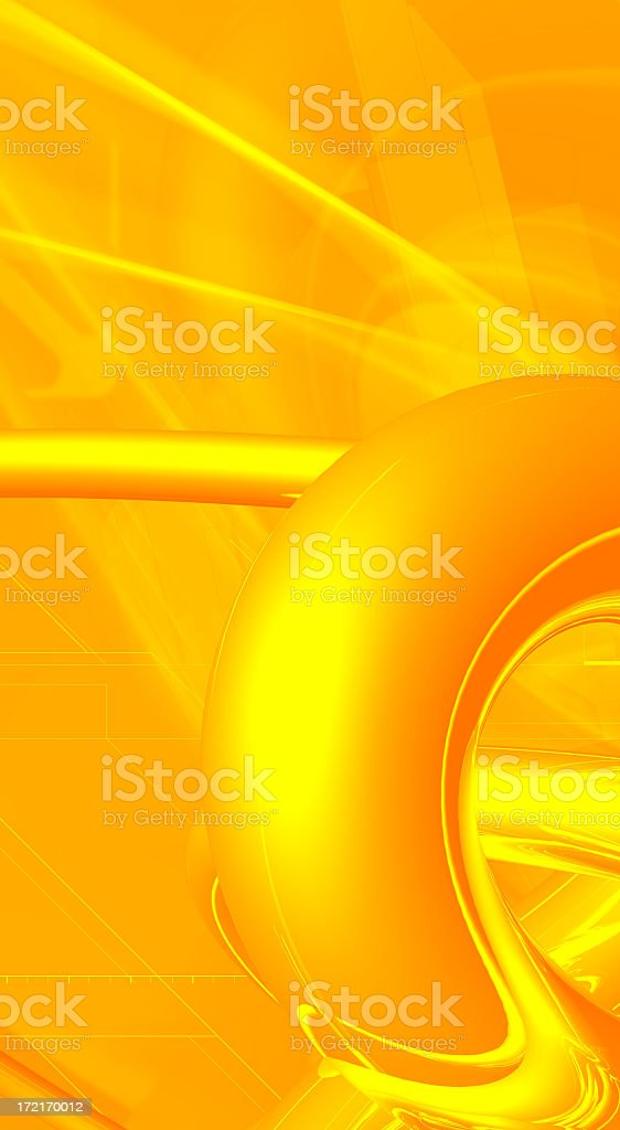 orange light beams royalty-free stock photo