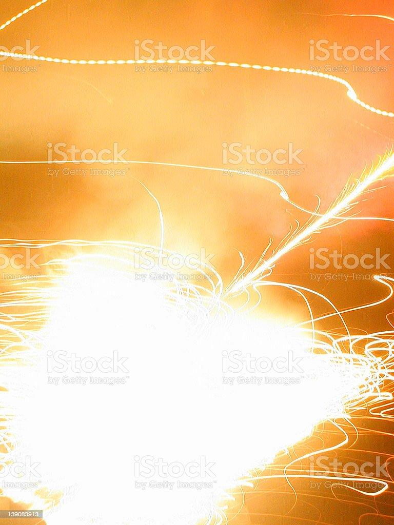 orange light stock photo