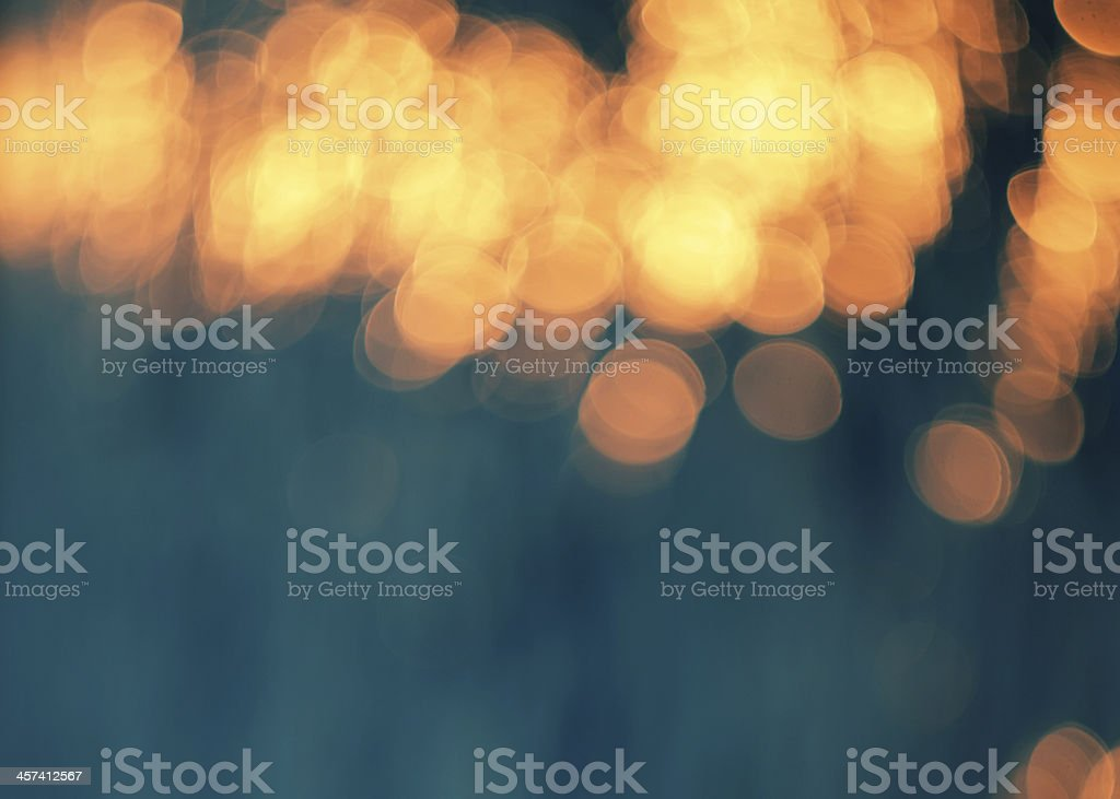 Orange lights. stock photo