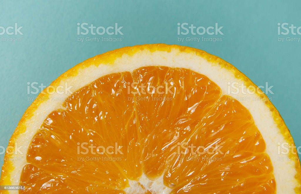 orange macro stock photo