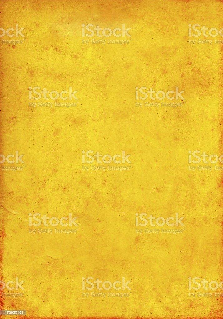 Orange Magnus Poster royalty-free stock photo