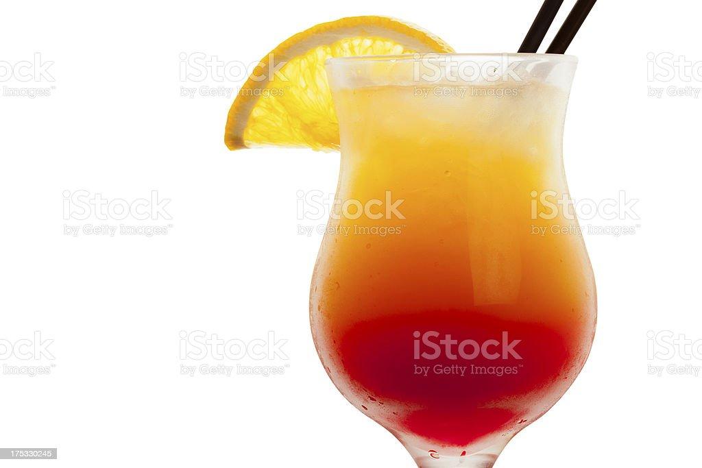 Orange Mango Cocktail royalty-free stock photo