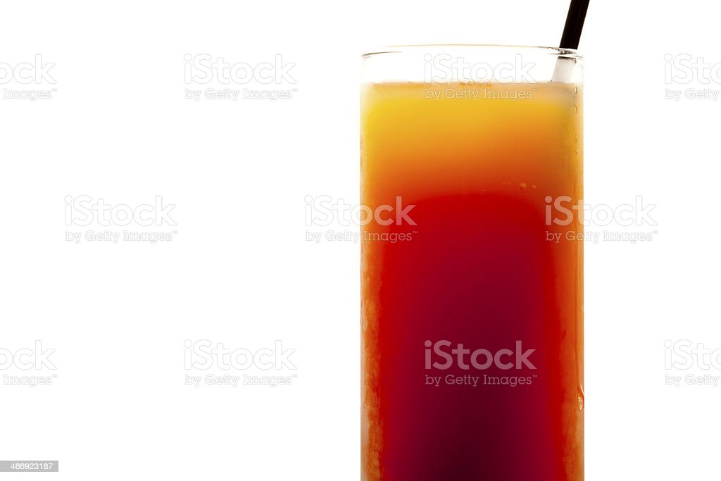 Orange Mango Cocktail royalty-free stock photo