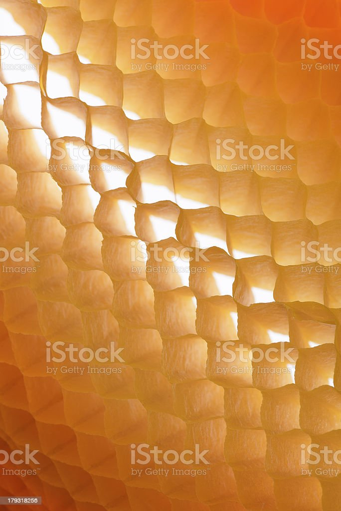 Orange, Marbledefect  Paper Background royalty-free stock photo