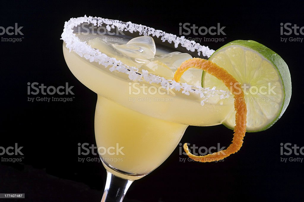 Orange Margarita  - Most popular cocktails series stock photo