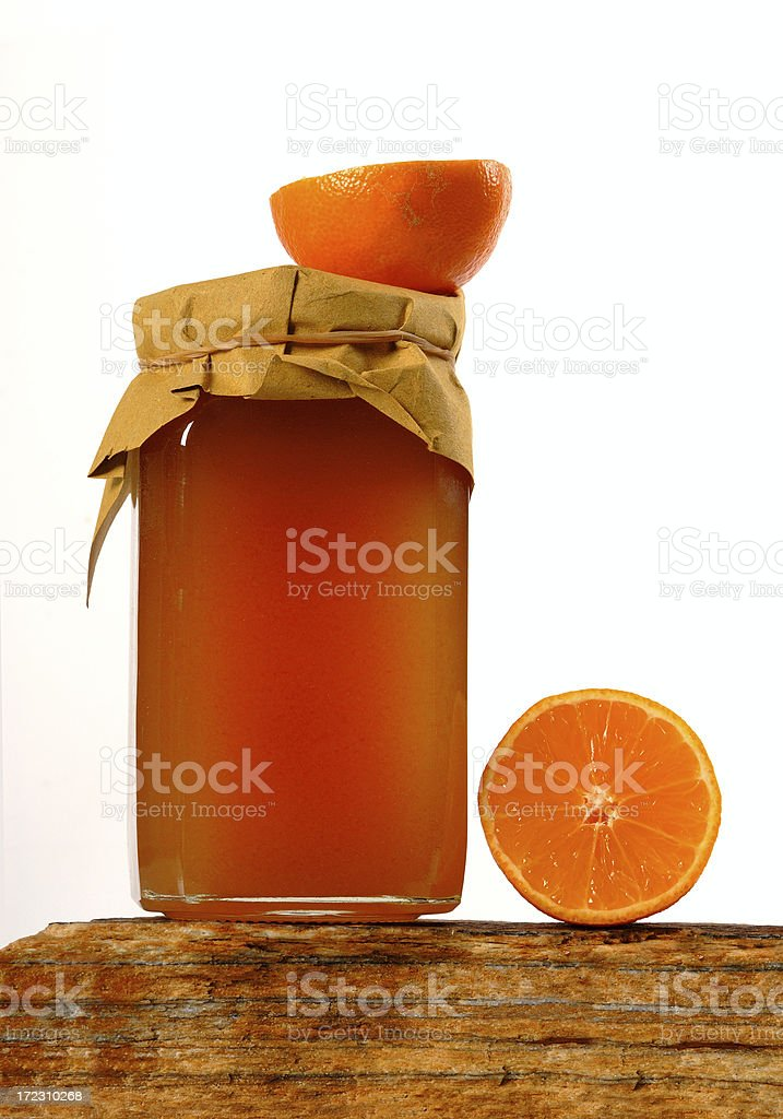 orange marmalade royalty-free stock photo
