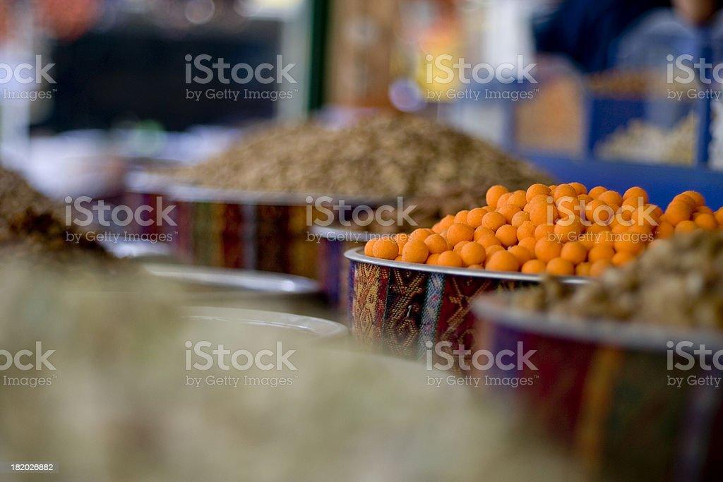 Orange Nuts royalty-free stock photo